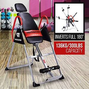 GRAVITY INVERSION TABLE Folding Upside Down Back Pain Home Gym Sydney City Inner Sydney Preview