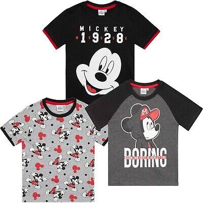 Disney Mickey Maus Charakter Jungen Kurzärmelig Oberteile Baumwolle T-Shirt Tees (Disney Jungen Charaktere)