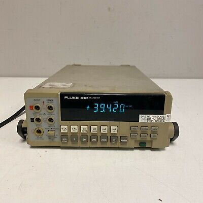 Fluke 8840a Tabletop Multimeter W Stand Tested And Working