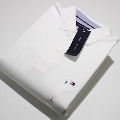 Men's Tommy Hilfiger Short Sleeve White Polo Shirt | NWT