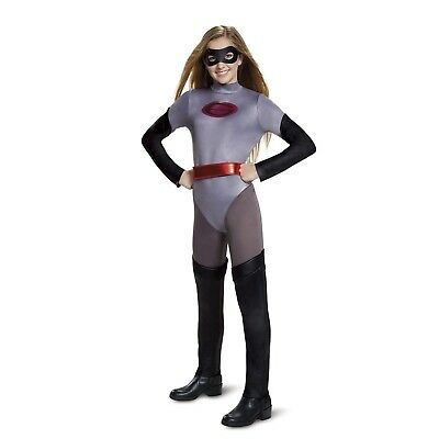 Disney Classic Mrs Incredibles 2 Elastigirl Halloween Costume Suit Girls Teen XL