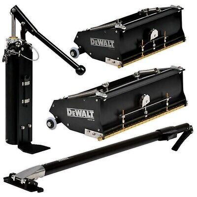 Dewalt Drywall Tools Flat Box Set With Pump And Handle 10-year Warranty