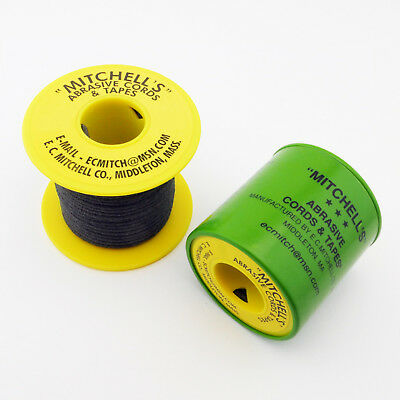 Mitchell's Abrasive Emery Cords No. 52, 150 Grit, 0.055
