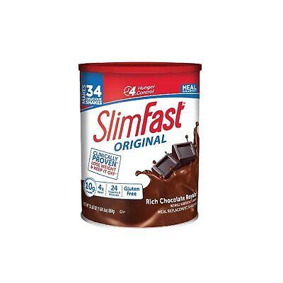 SlimFast Original Rich Chocolate Royale Meal Replacement Shake Mix 31.18 Oz Chocolate Shake Mix