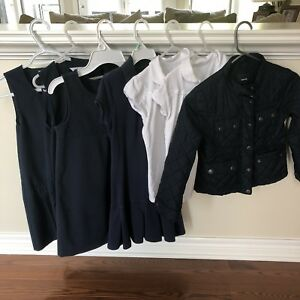 Girls school uniform + jacket; size 7
