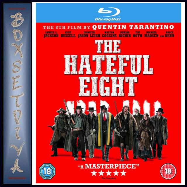 THE HATEFUL EIGHT - Samuel L Jackson & Kurt Russell  *BRAND NEW BLURAY **