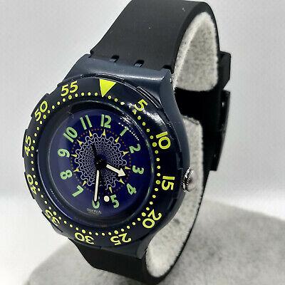 "Swatch Watch The Originals SDN104 "" Rowing "" Scuba 200m - Diver - 1992 -"