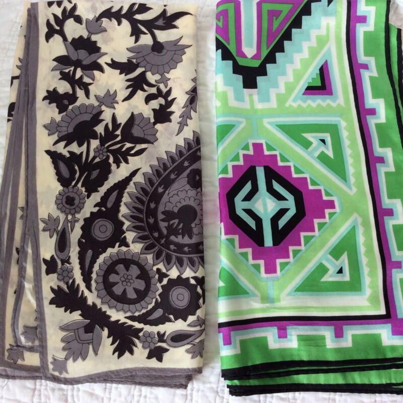 Vintage Scarves Lot