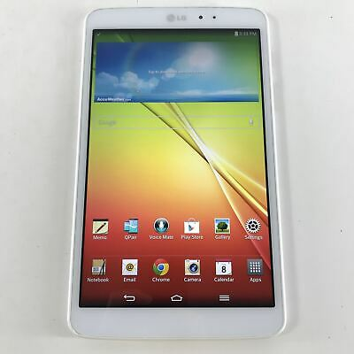 LG G Pad 8.3 LG-V500 16GB Wi-Fi, 8.3 in White Android Tablet