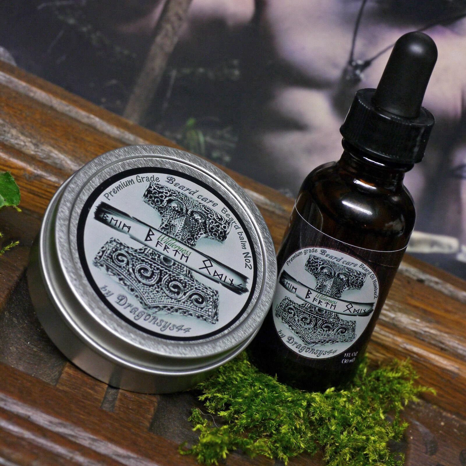 NEU Beim Barte ODINS Bartbalsam 59ml Bartpflege-SET 30ml Bartöl Wilderness yucon