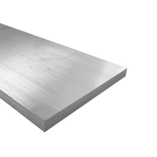 """1/4"""" x 6"""" Aluminum Flat Bar, 6061 Plate, 24"""" Length, T6511 Mill Stock, 0.25"""""""
