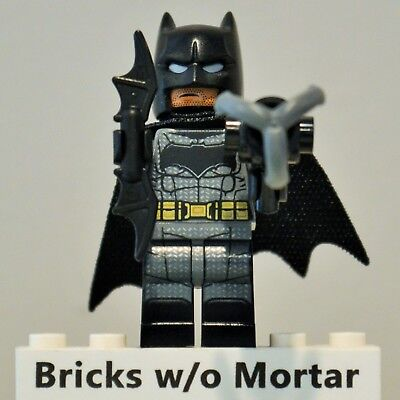 New Genuine LEGO Batman Minifig with Batarang and Gun DC Super Heroes 76086 for sale  Shipping to Nigeria