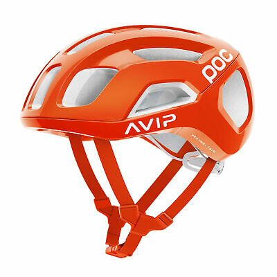 (POC Cycling Ventral Air Spin Cycling Helmet Zink Orange Size Medium)