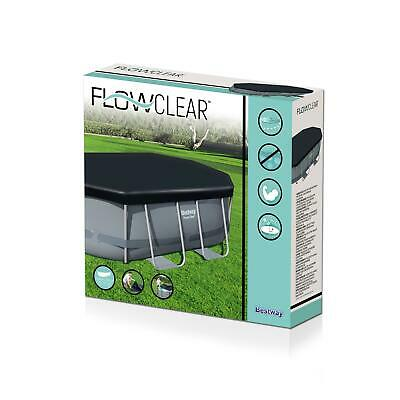Bestway Flowclear Piscina Funda Para Poder Acero Ovalado Piscinas, 4.6m