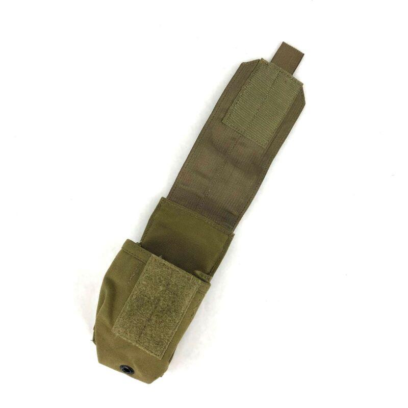 Khaki Eagle Industries Smoke Grenade Pouch USGI Set of 2 MOLLE SFLCS Kit