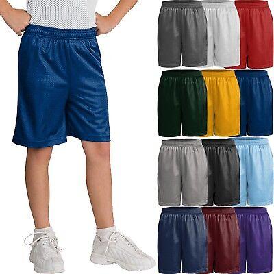 Kids Mesh Shorts Little BOYS & Girl Athletic 2T to 12Y Youth PE schools uniform  Little School Girl