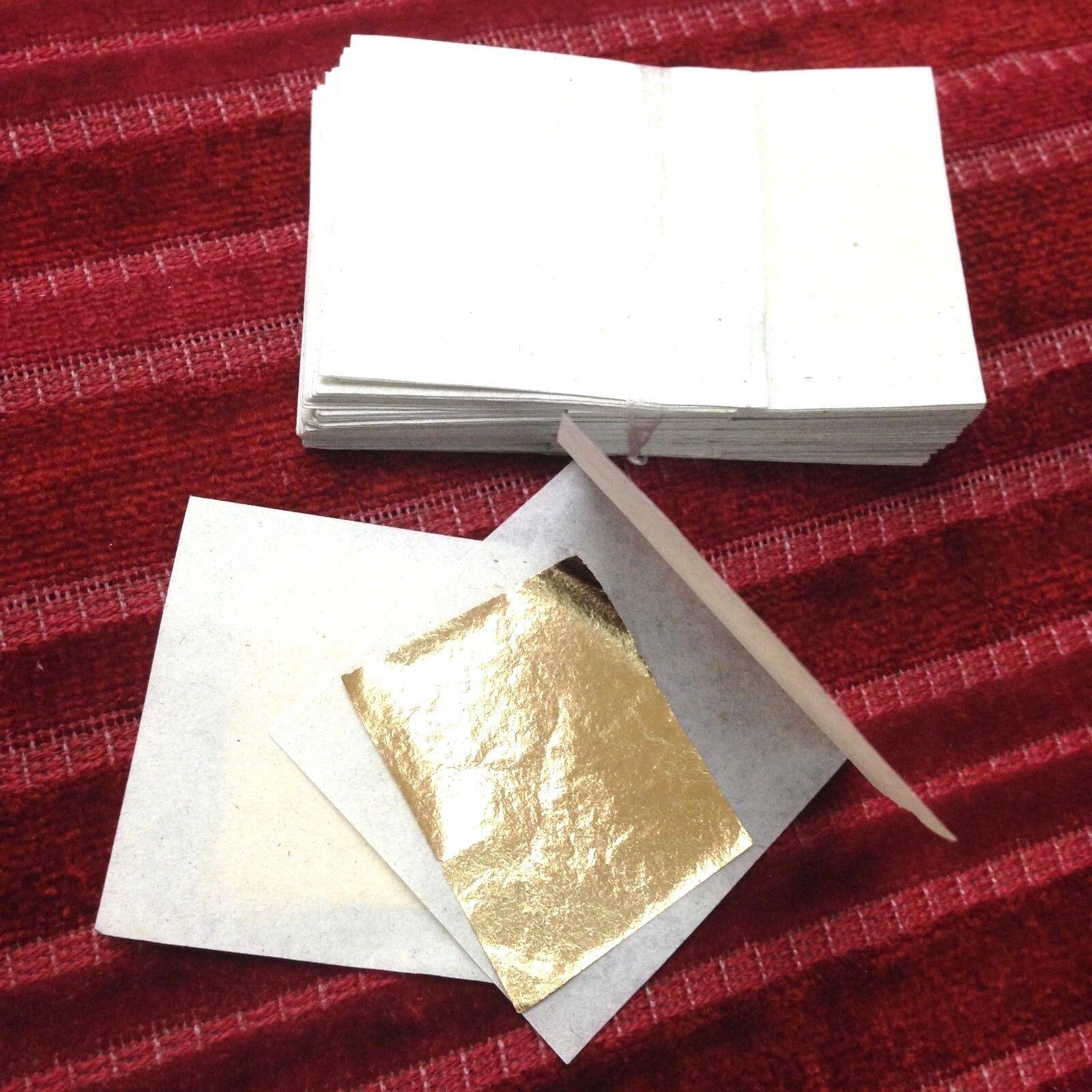 100 PCS MASK 24K PURE GOLD LEAF FACIAL ANTI AGING WRINKLE SKIN  WHOLESALE SPA