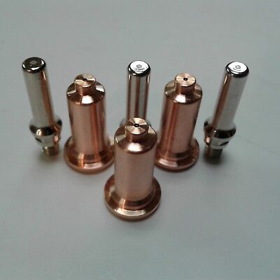 6pc Long Shielded Consumable Kit For Everlast 50s 60s Plasma Cutter Ipt Torch