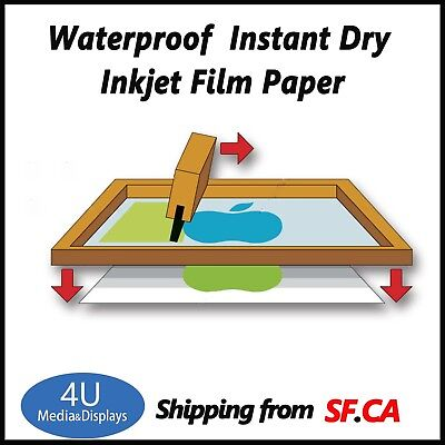11 X 17100 Sheetswaterproof Inkjet Transparency Film For T-shirt Printing