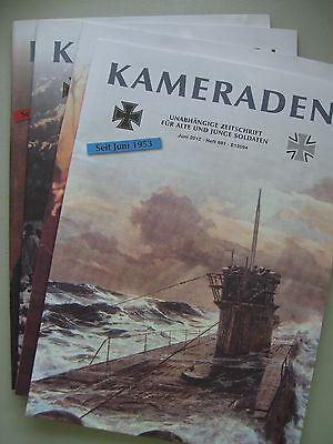 4 He Kameraden 01/02+03+05+06 Bundeswehr Unabhängige Zeitschrift Soldaten 2012