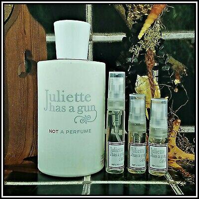 🖐 Juliette Has a Gun Not A Perfume 👉 2,3 or 5ml Perfume Sample 👍 Free P&P
