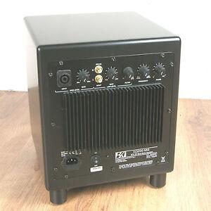 BK Electronics XLS200-DF MK2 Powered Subwoofer. Black