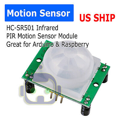 Hc-sr501 Pir Ir Passive Infrared Motion Detector Sensor Module Arduino Hcsr501