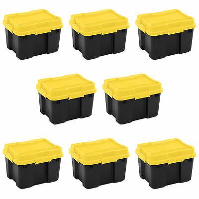 18319y04 20 gallon plastic storage container box