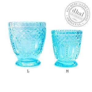 Windlicht glas bunt dekoration ebay Teelichthalter glas bunt