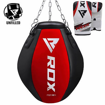 RDX Punching Bag Wrecking Heavy Punch Gloves Filled Ball Box