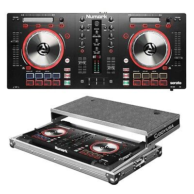 Numark MixTrack Pro 3 All-In-One Controller + Flight Case Package