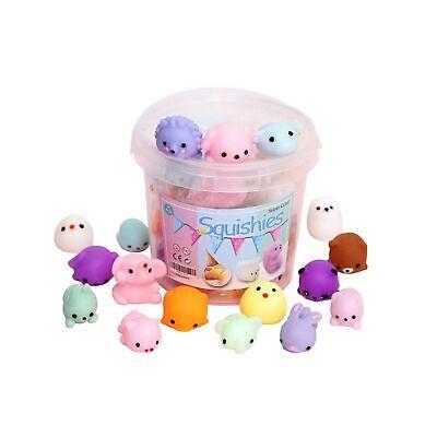 Squishies Squishy Toy 24pcs Party Favors for Kids Mochi Squishy Toy moji Kids...