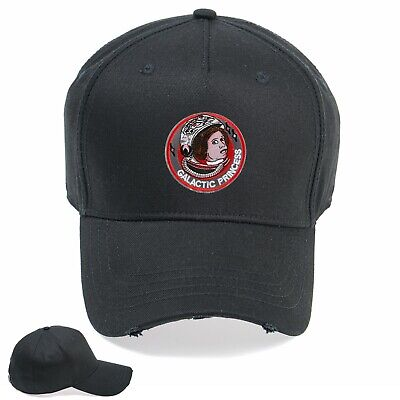 Galactic Princess Funny Embroidered Vintage Hat Cap Beanie Snapback Weathered