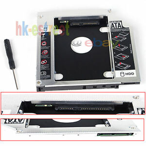 New 2nd Hard Drive HDD SSD Caddy for SAMSUNG np350e7c NP355E7C-A01US SN-208BB