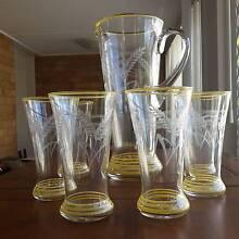 Vintage Beer Glasses (7 pc) Wynnum West Brisbane South East Preview