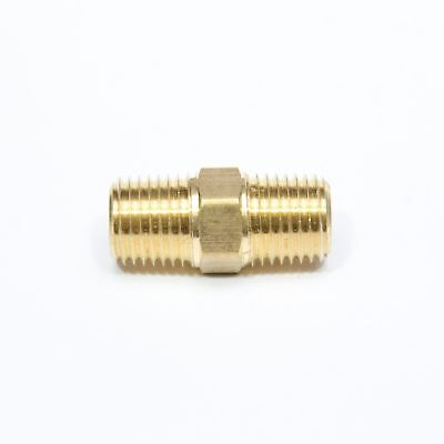Brass Pipe Nipple 38 Male Npt X 38 Male Npt Fitting Fuel Oil Gas Water