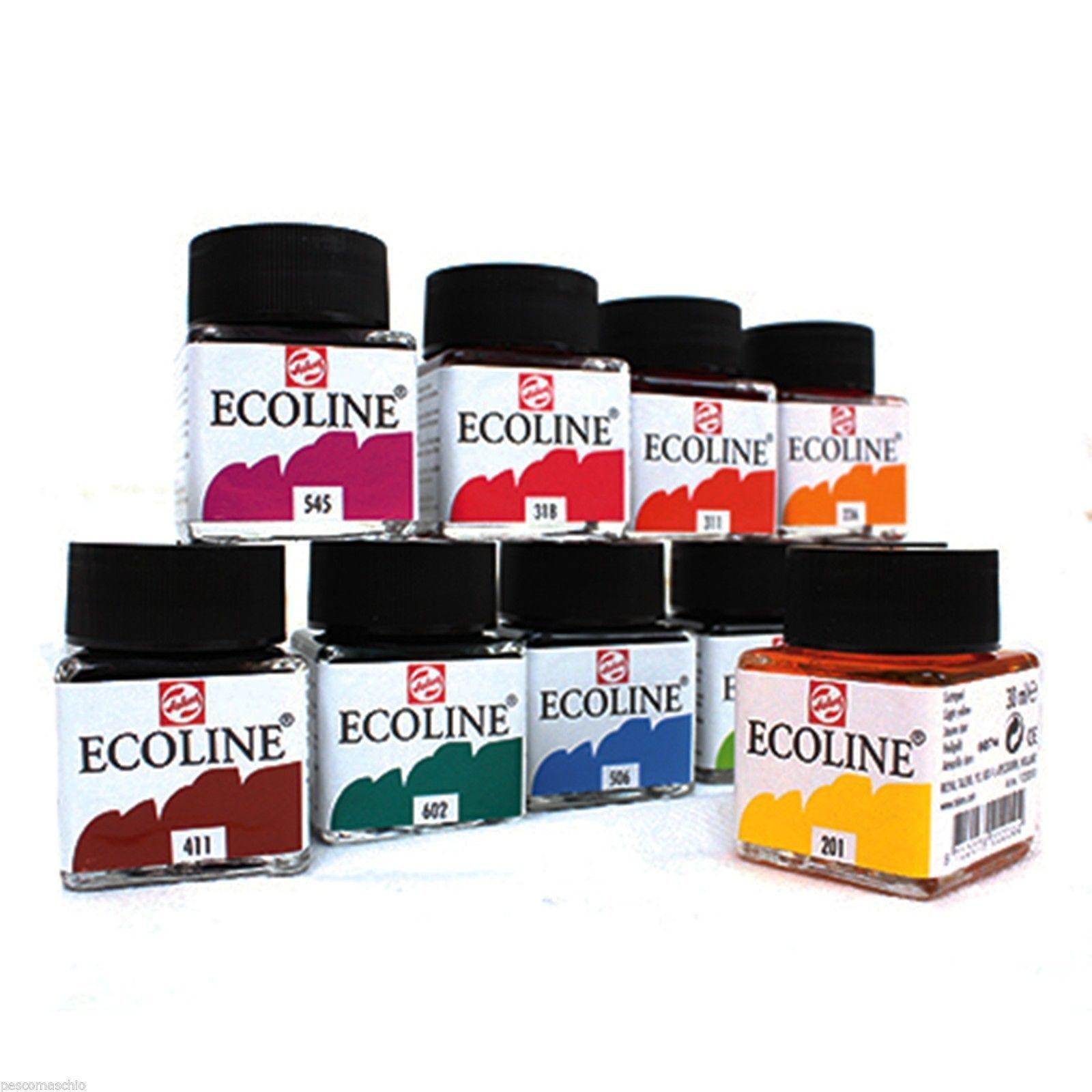 ECOLINE TALENS ACQUERELLO ACQUARELLO LIQUIDO offerta di 5 colori assortiti
