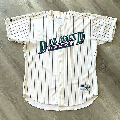 Pro Cut Arizona Diamondbacks 48 XL Jersey Authentic Russell Diamond Vintage 90s