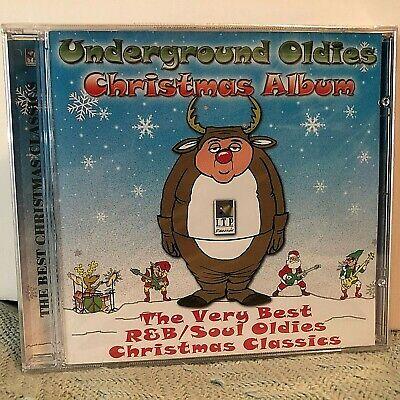 SEALED ! Underground Oldies Christmas Album CD Various(R&B,Soul) iTP 8911-2,2004 ()