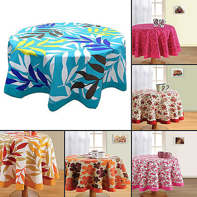 New Round Table Cover Beach Decor Table Runner Cloth 100% Co