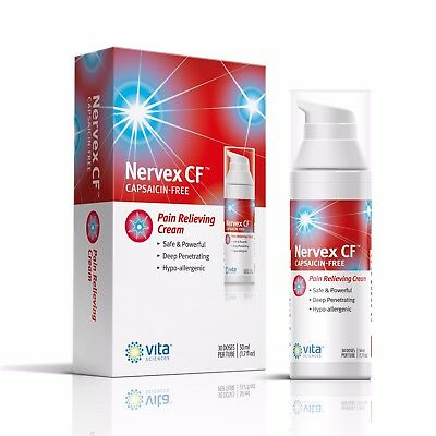 Nervex CF -  Neuropathy Rapid Pain Relief Cream with Arnica, B1, B5, B6,