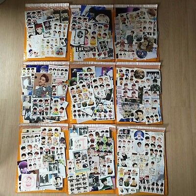 EXO Gifts Goods Sticker + Photo + Photocard + Etc Random Envelope Kpop K-pop