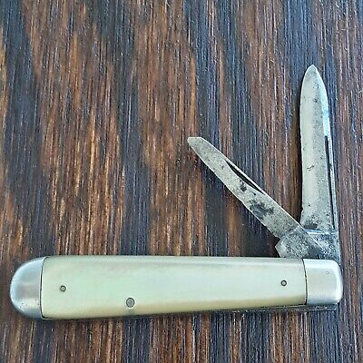 HENRY SEARS & SON 1865 KNIFE MADE IN USA LONG PULL JACK PEARL OLD VINTAGE POCKET