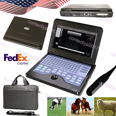 Cms600p2 Vet Portable Veterinary Use Ultrasound Scanner Machine Rectal Probeusa