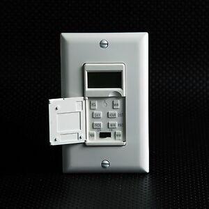Electric Timer Switch Ebay