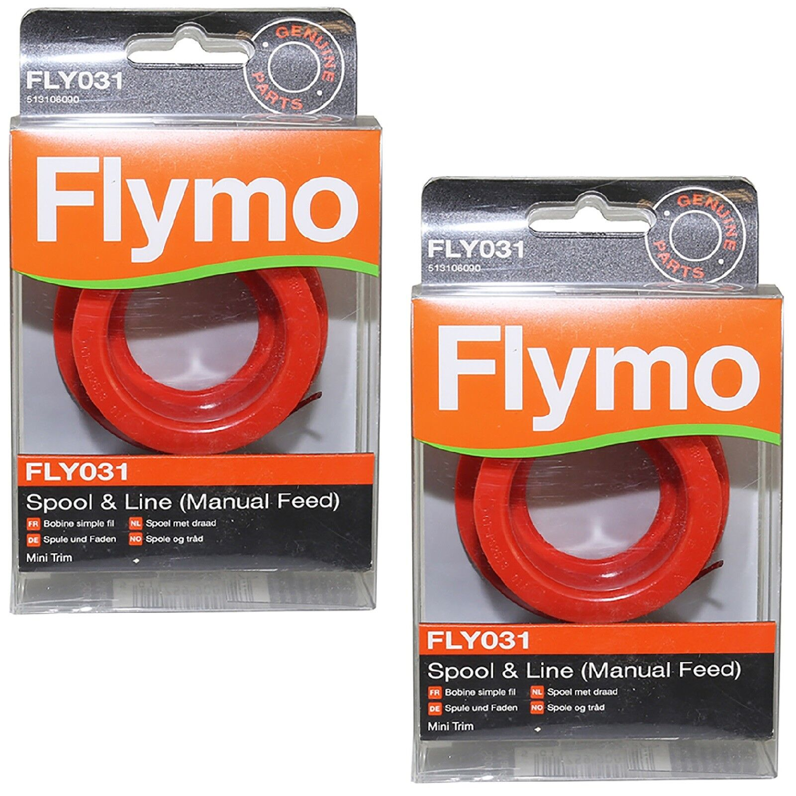 Flymo Mini Trim Manual Feed Spool and Line MT21 ET21 Strimmer FLY031