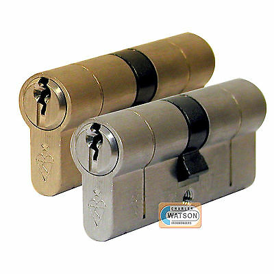 Bs Euro Cylinder Anti Snap Bump Drill Pick High Security Upvc Door Lock Barrel