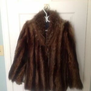 Fur coat jacket, wildcat