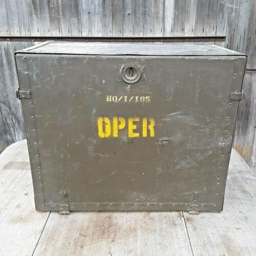 WWII Field Desk 1944 UNITED STATES TRUNK CO.