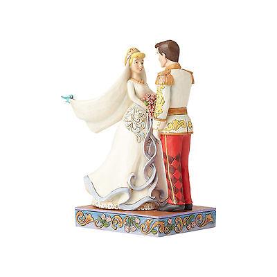 Disney*CINDERELLA & PRINCE ROYAL WEDDING COUPLE*Jim Shore*NEW 2017*NIB*4056748